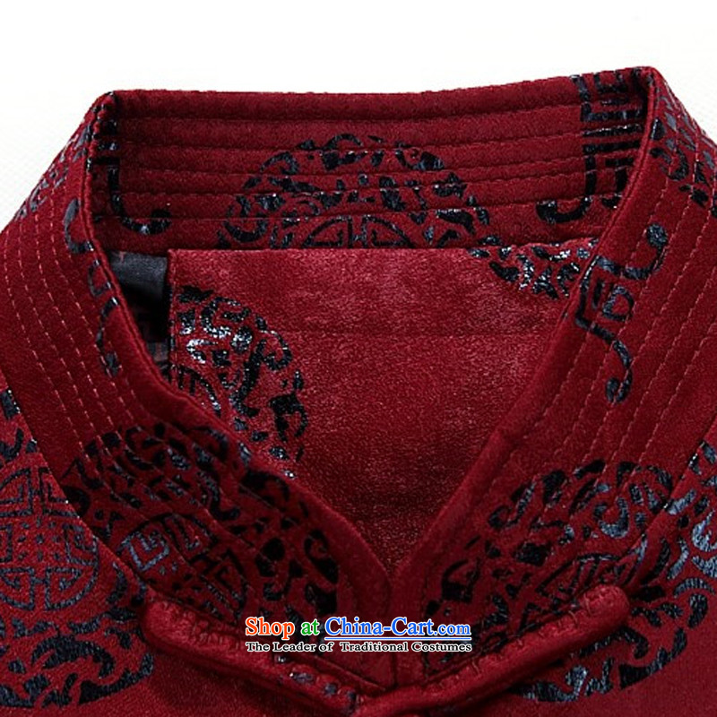 Hiv Rollet spring men Tang dynasty long-sleeved shirt, older men Tang dynasty tray clip older persons long-sleeved jacket Tang men chestnut horses聽M HIV ROLLET (AICAROLINA) , , , shopping on the Internet