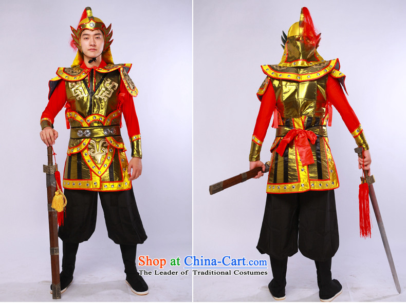 Ancient uniform theatrical services videos terra cotta warriors armor small boy will figure L picture, prices, brand platters! The elections are supplied in the national character of distribution, so action, buy now enjoy more preferential! As soon as possible.