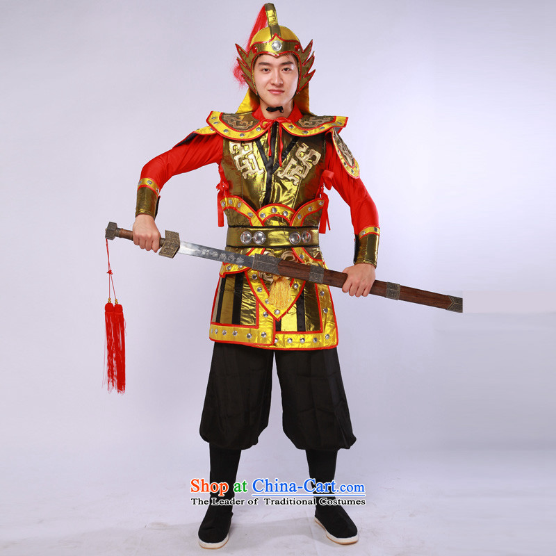 Ancient uniform theatrical services videos terra cotta warriors armor small boy will figure聽L