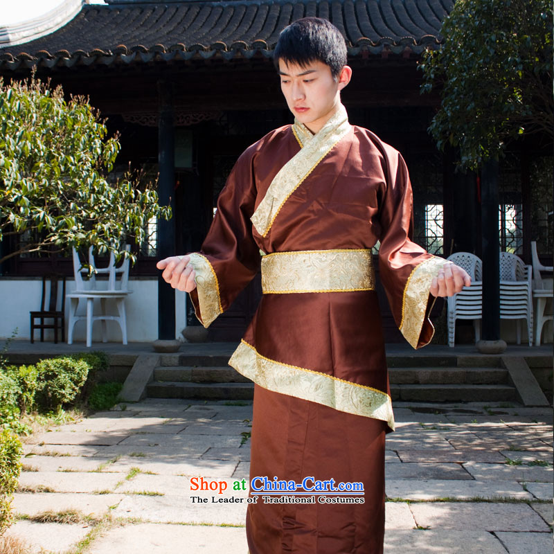 Men will start with the annual meeting of the ministers from the Han Dynasty to men costumes and Han-errant code are brown clothing