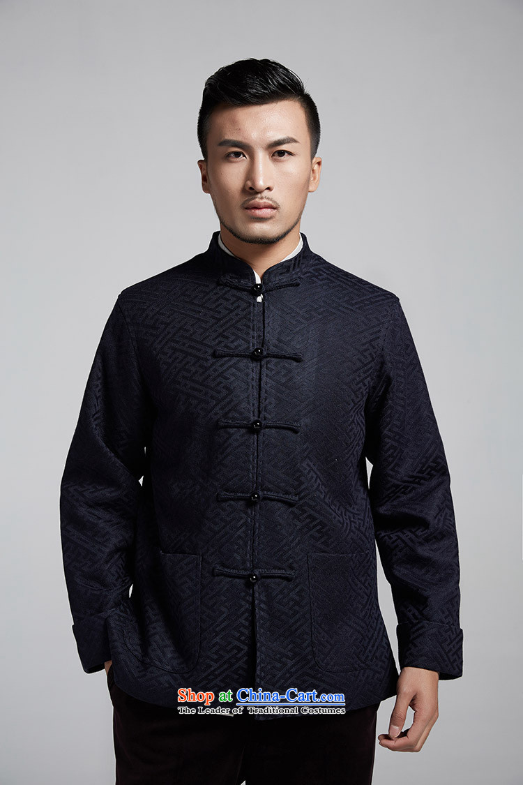Q Shinsaibashi represented a health autumn [New Men China wind silk jacquard long-sleeved jacket Tang1074XXXL Deep Blue Photo, prices, brand platters! The elections are supplied in the national character of distribution, so action, buy now enjoy more preferential! As soon as possible.