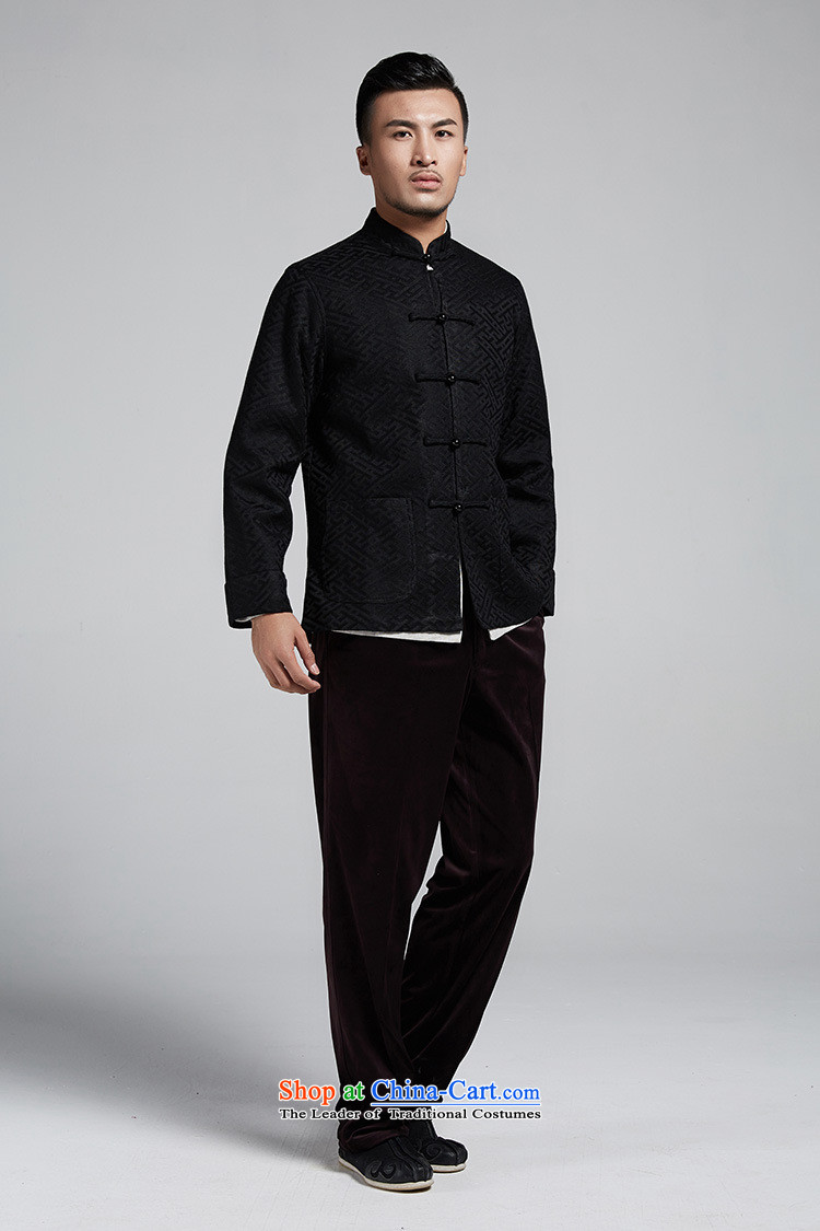 Q Shinsaibashi represented a health autumn [New Men China wind silk jacquard long-sleeved jacket Tang 1074  XXXL Deep Blue Photo, prices, brand platters! The elections are supplied in the national character of distribution, so action, buy now enjoy more preferential! As soon as possible.