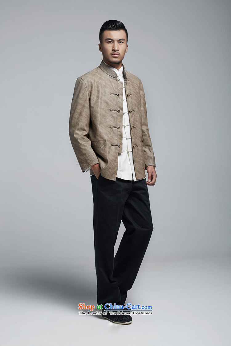 Q Shinsaibashi represented a health autumn [men on the new Chinese Jacket coat buttoned, rom leisure WXZ1156 wine redXXXXL picture, prices, brand platters! The elections are supplied in the national character of distribution, so action, buy now enjoy more preferential! As soon as possible.