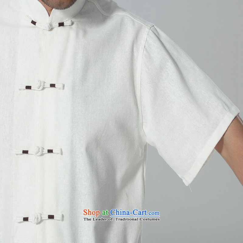 In accordance with the fuser summer trendy new) Older Men's Mock-Neck Shirt embroidery single row detained father boxed short-sleeved blouses聽Lgd/m0058# Tang -A black聽M, in accordance with the fuser has been pressed shopping on the Internet