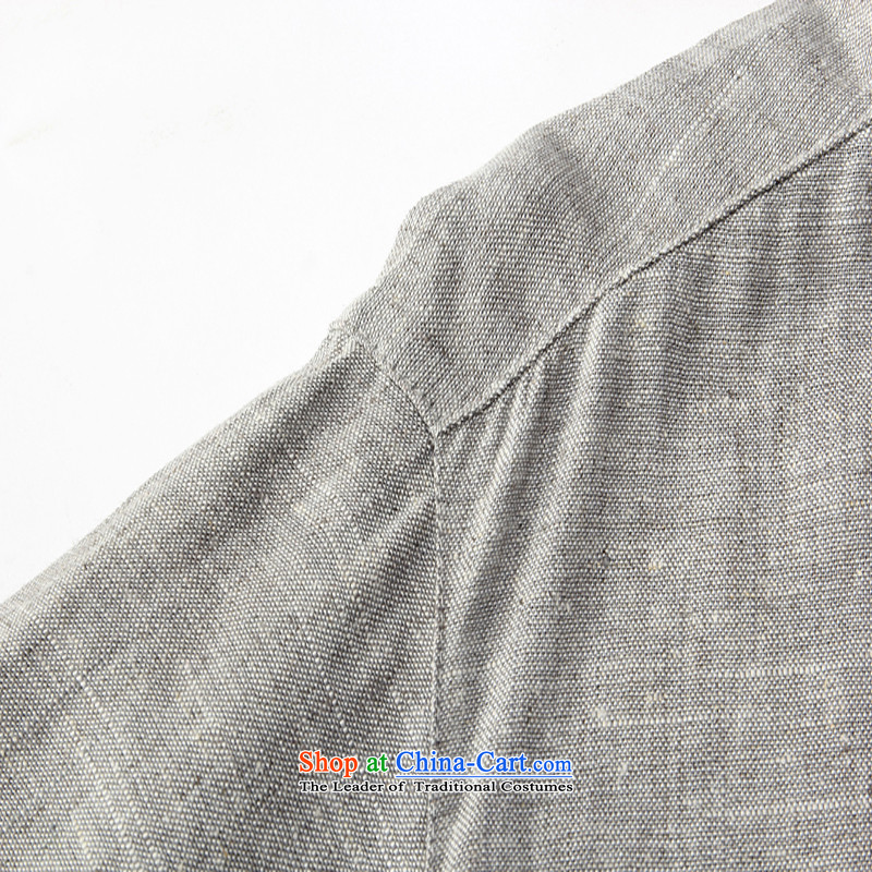 Sato Chu聽2015 men's short-sleeved shirt Tang dynasty in older men China wind Taegeuk services father casual white T-shirt聽180/54/XXL, Sato Chu shopping on the Internet has been pressed.