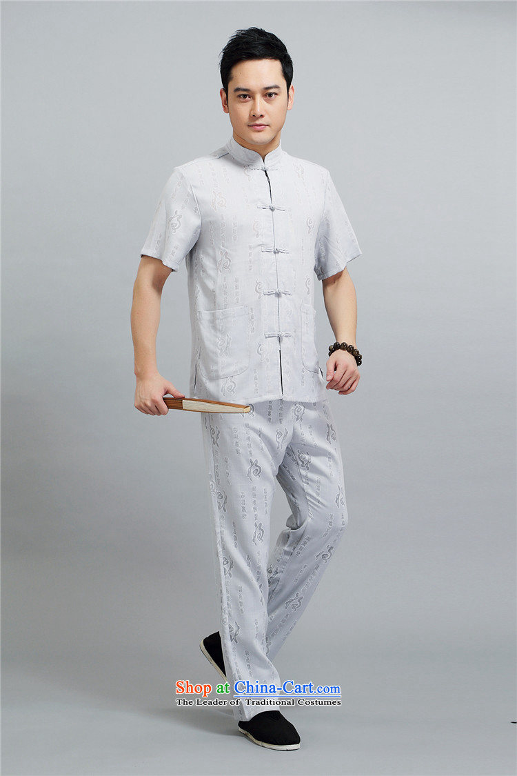Hiv Rollet middle-aged men Tang dynasty short-sleeve packaged men of older persons in the Han-grandfather replacing men's short-sleeved summer beige聽XXL/180 picture, prices, brand platters! The elections are supplied in the national character of distribution, so action, buy now enjoy more preferential! As soon as possible.