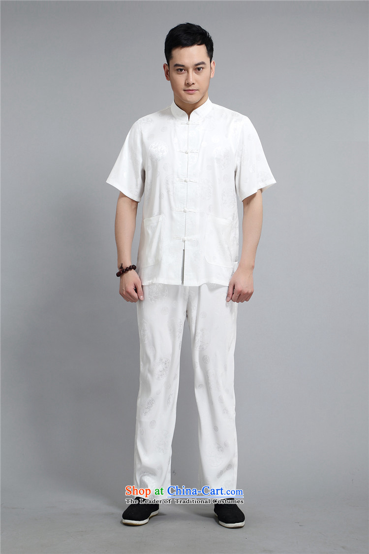 Hiv Rollet 2015 Summer New Tang Dynasty Han-middle-aged men Michael Mak short-sleeve kit national costumes XL/175 gold prices, pictures, brand platters! The elections are supplied in the national character of distribution, so action, buy now enjoy more preferential! As soon as possible.