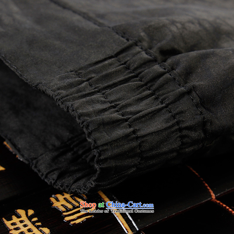 The Lhoba nationality Wei Overgrown Tomb summer UNPROFOR men's trousers聽100 Tang dynasty silk incense cloud yarn China Wind Pants Father Summer Scent cloud yarn casual pants black聽2XL, Warranty Judy Wai (B.L.WEIMAN Overgrown Tomb) , , , shopping on the In