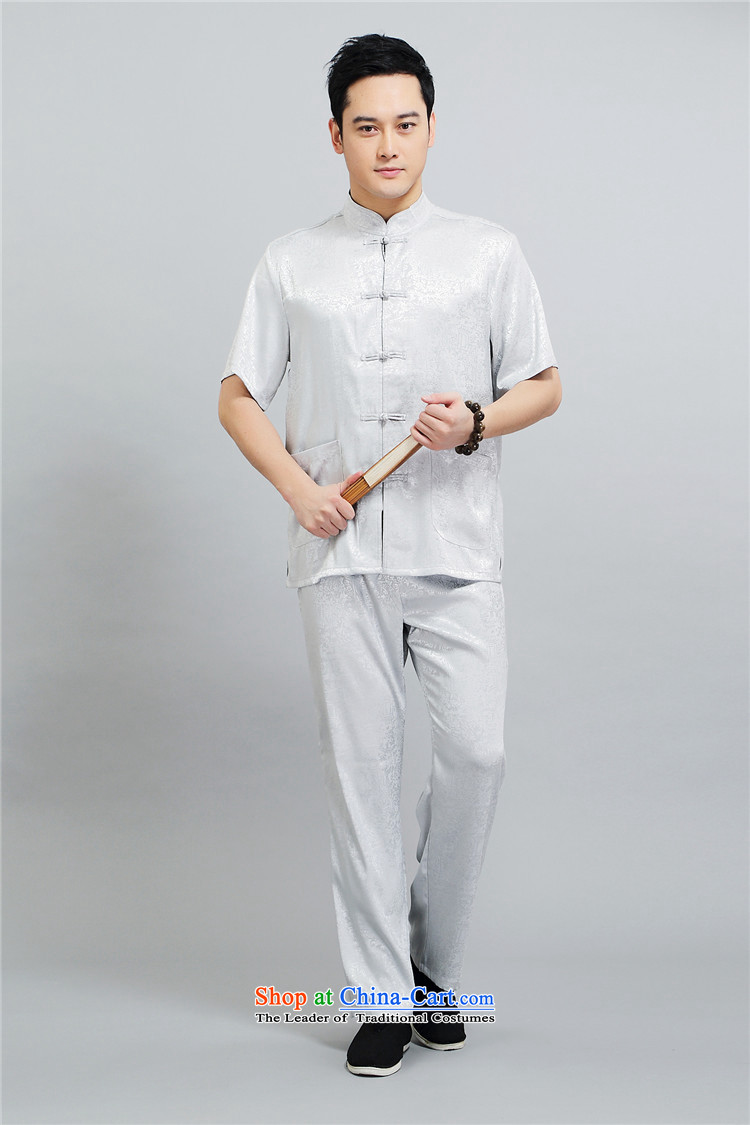 Kyung-ho, older short-sleeved Tang dynasty male middle-aged men short-sleeved summer short-sleeved shirt older persons Kit White XXL picture, prices, brand platters! The elections are supplied in the national character of distribution, so action, buy now enjoy more preferential! As soon as possible.