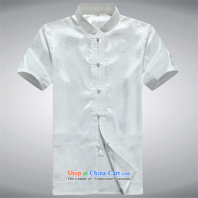 Beijing Summer Europe men short-sleeved Tang Dynasty Han-short-sleeved Tang Tang dynasty in older men short-sleeved Tang Dynasty New RedS picture, prices, brand platters! The elections are supplied in the national character of distribution, so action, buy now enjoy more preferential! As soon as possible.