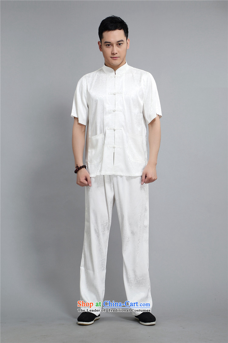 Kyung-ho, Tang dynasty older Short-Sleeve Men national casual shirt summer father Kit White聽XXL picture, prices, brand platters! The elections are supplied in the national character of distribution, so action, buy now enjoy more preferential! As soon as possible.