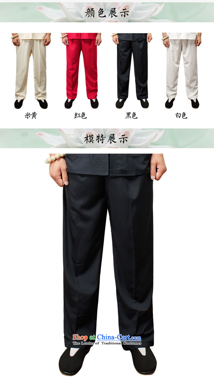 The 2015 summer pickup) older men's new book, the summer short pants older persons tai chi elastic solid color Large pant practitioners beige trousers XXL picture, prices, brand platters! The elections are supplied in the national character of distribution, so action, buy now enjoy more preferential! As soon as possible.