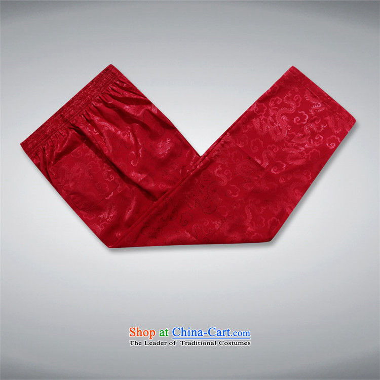 Rollet HIV from older men's Tang Dynasty Chinese Han-Summer Ball-middle-aged services pants leisure summer father red XL Photo, prices, brand platters! The elections are supplied in the national character of distribution, so action, buy now enjoy more preferential! As soon as possible.