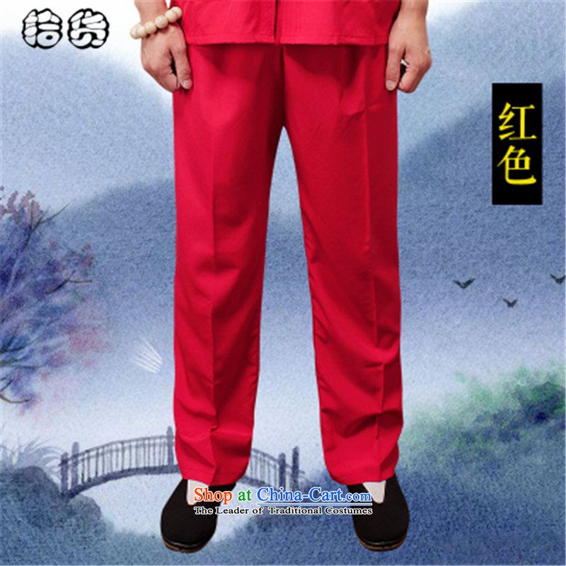 The OSCE, in the summer of 2015, the name of the older men's trousers, pants, father Ronald elderly men pants elastic waist summer very casual trousers with large black XXXXL, Tang Male Euro (ougening lemonade.) , , , shopping on the Internet