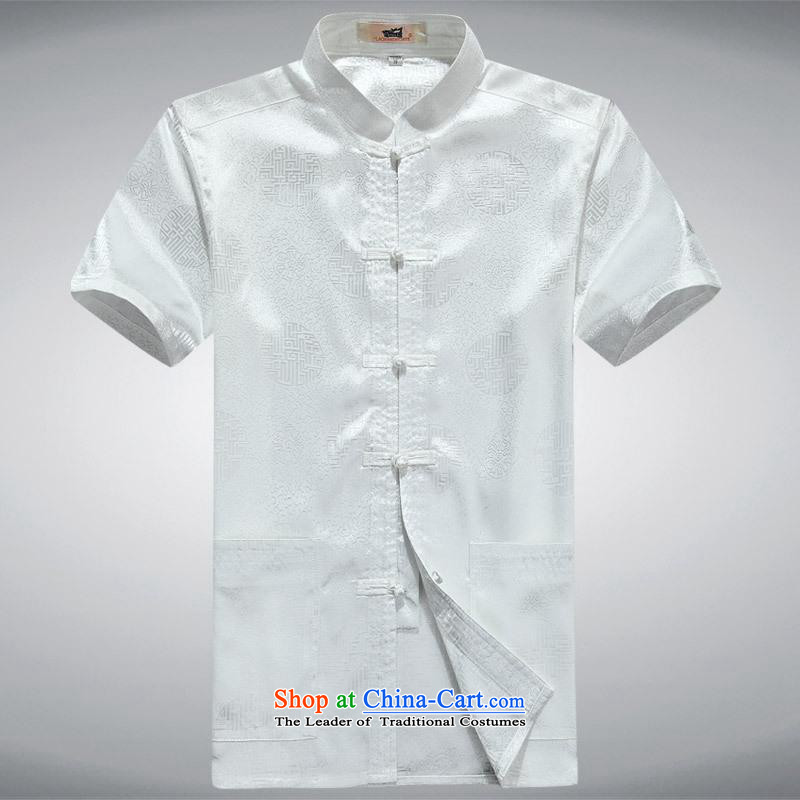 Hundreds of brigade bailv summer Stylish slim, collar comfortable short-sleeved T-shirt white clip relax tray?185