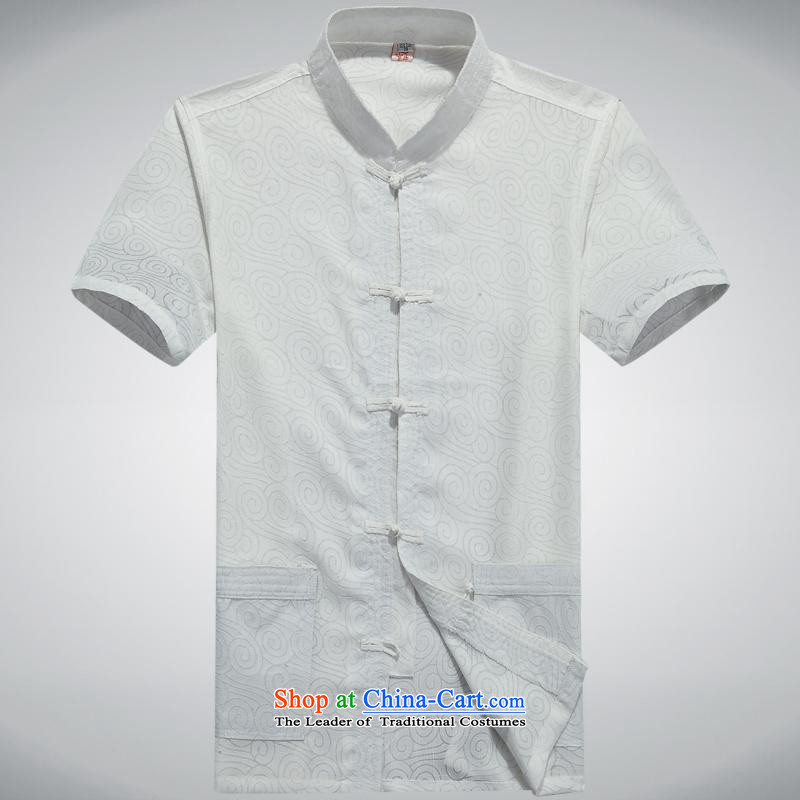 Hundreds of brigade bailv summer Stylish slim, collar comfortable short-sleeved T-shirt white clip relax tray?165