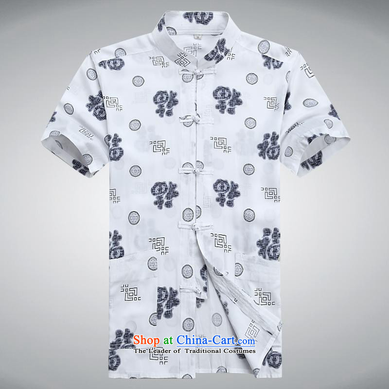 Hundreds of brigade bailv summer Stylish slim, collar comfortable short-sleeved T-shirt casual detained disc white�L