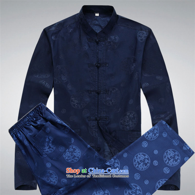 Kanaguri Mouse 2015 spring loaded of older persons in the Tang dynasty light jacket and a long-sleeved Tang Dynasty Package for larger China Wind Jacket blue packaged聽XXXL picture, prices, brand platters! The elections are supplied in the national character of distribution, so action, buy now enjoy more preferential! As soon as possible.