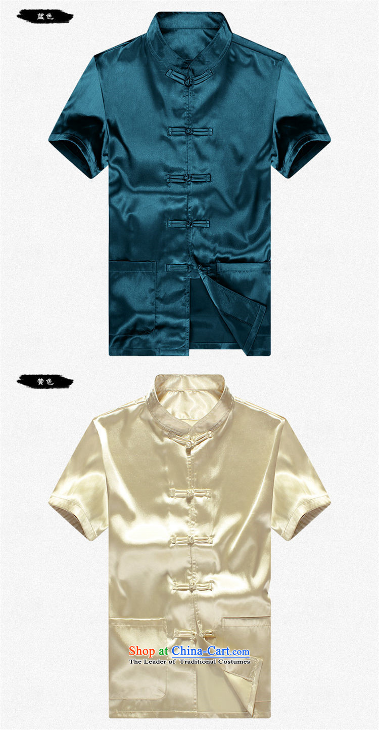 The 2015 summer, pickup men Tang Dynasty Package summer short sleeve loose larger of older persons in the elderly men's father and grandfather Tang dynasty summer leisure blue聽185 pictures, prices, brand platters! The elections are supplied in the national character of distribution, so action, buy now enjoy more preferential! As soon as possible.
