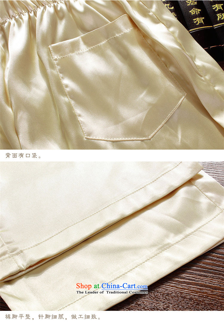 Hirlet Wu Xia Men, 2015 Tang Dynasty Package summer short sleeve loose larger of older persons in the elderly men's father and grandfather Tang dynasty summer leisure white 175 pictures, prices, brand platters! The elections are supplied in the national character of distribution, so action, buy now enjoy more preferential! As soon as possible.