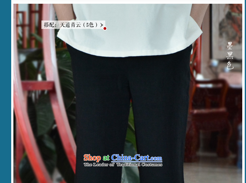 Linen Pants and summer men casual pants loose cotton linen and men's trousers, ethnic trousers gray  XXL picture, prices, brand platters! The elections are supplied in the national character of distribution, so action, buy now enjoy more preferential! As soon as possible.