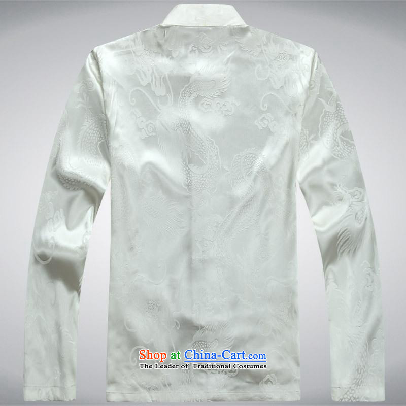 Hundreds of brigade bailv summer Stylish slim, collar comfortable long-sleeved tray clip leisure wears white XXL, hundreds (bailv) , , , shopping on the Internet
