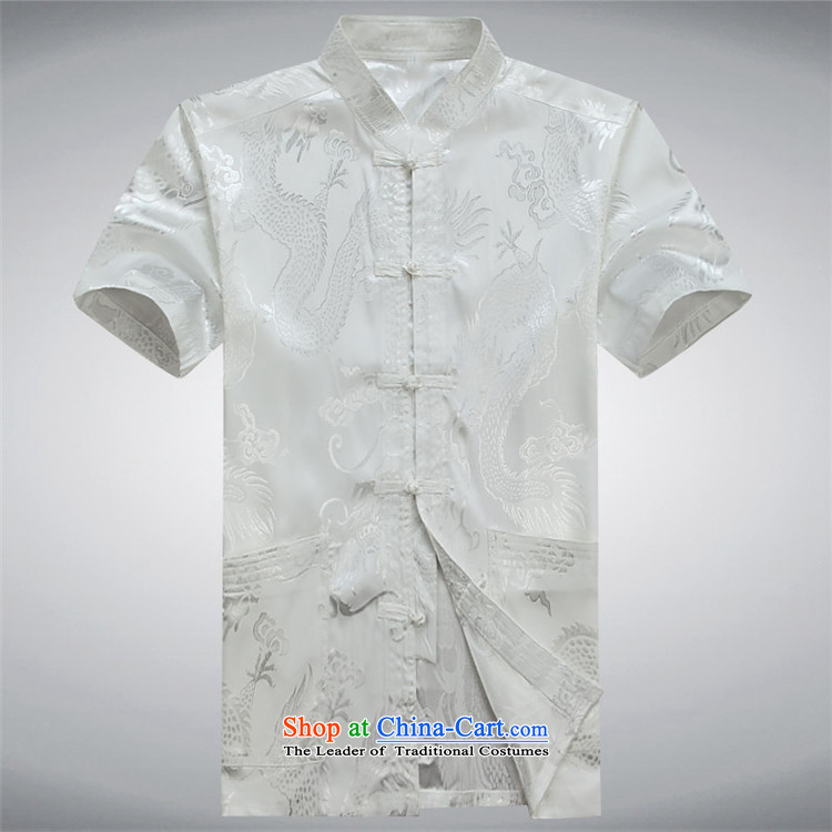 Beijing OSCE men Tang Dynasty Package men of older persons in the father of ethnic replace short-sleeved China wind and Tang dynasty Summer Package聽XL/180 white picture, prices, brand platters! The elections are supplied in the national character of distribution, so action, buy now enjoy more preferential! As soon as possible.