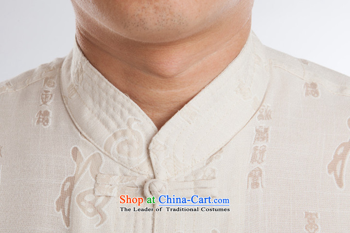 Older persons in the Tang dynasty and short-sleeve packaged cotton linen stay relaxing father replacing Tang Dynasty Chinese Summer Package Father's Day Gifts China wind summer, white聽picture, price, 175 brand platters! The elections are supplied in the national character of distribution, so action, buy now enjoy more preferential! As soon as possible.
