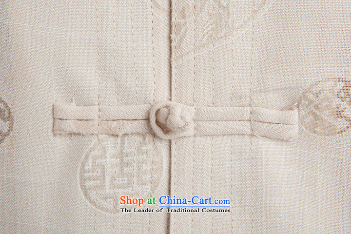 2015 New Tang Dynasty Xia Men's older cotton linen Tang Dynasty Short-Sleeve Men with white聽185 pictures Daddy, prices, brand platters! The elections are supplied in the national character of distribution, so action, buy now enjoy more preferential! As soon as possible.
