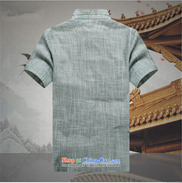 The OSCE, 2015 summer, China lemonade wind men Tang Dynasty Package for the elderly father short-sleeved clothes with elderly men's grandfather summer retro men green聽XXXL190/110 picture, prices, brand platters! The elections are supplied in the national character of distribution, so action, buy now enjoy more preferential! As soon as possible.