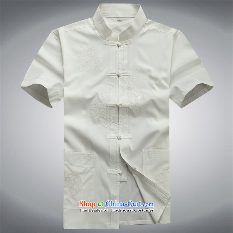 Kanaguri mouse in older men Tang Dynasty Package summer middle-aged short-sleeved Chinese tunic grandpa male Tang Dynasty Summer Package聽XXXL white picture, prices, brand platters! The elections are supplied in the national character of distribution, so action, buy now enjoy more preferential! As soon as possible.