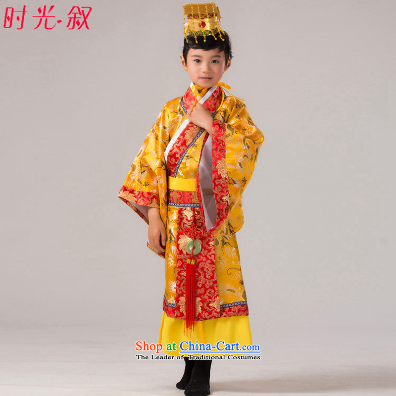 The Syrian children ancient time Boys show up to Tang dynasty Han-chin Han-king of the Tang dynasty costumes and photography COS Prince Edward Prince Edward Tang Dynasty Halloween 130