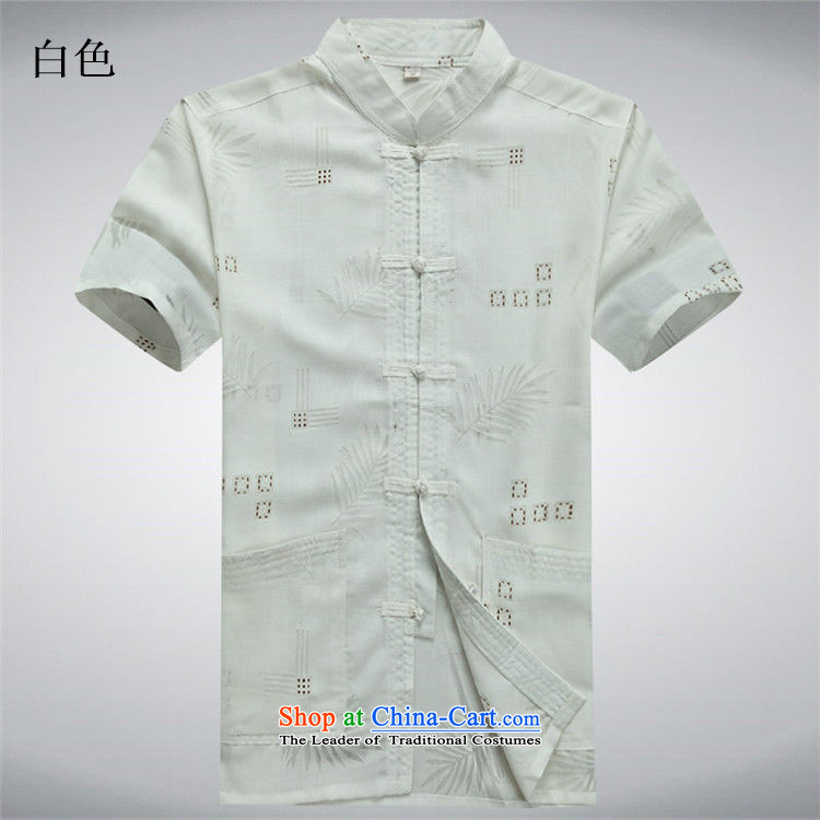 Beijing summer, OSCE older short-sleeved cotton linen middle-aged man Tang dynasty China wind half male in his shirt-sleeves installed grandpa summer father beige聽M/170 picture, prices, brand platters! The elections are supplied in the national character of distribution, so action, buy now enjoy more preferential! As soon as possible.