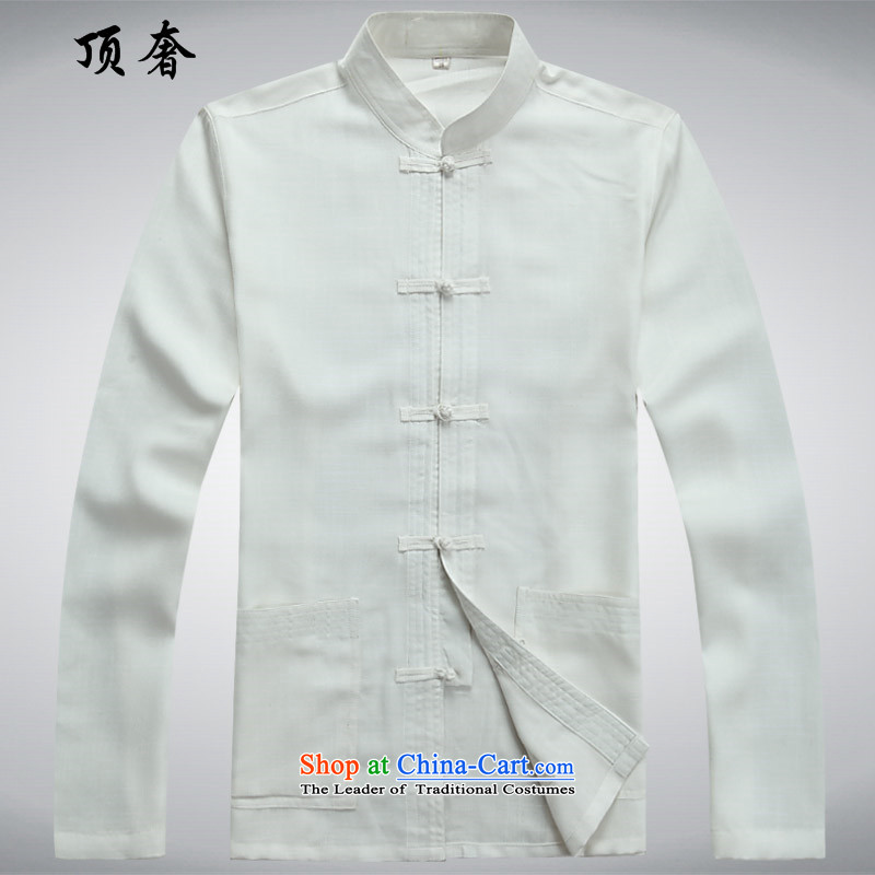 Top Luxury autumn thin, Men's Long-Sleeve men of older persons in the Han-China wind Long-sleeve kit exercise clothing red father boxed men Tang Dynasty Package White Kit聽42/185, top luxury shopping on the Internet has been pressed.