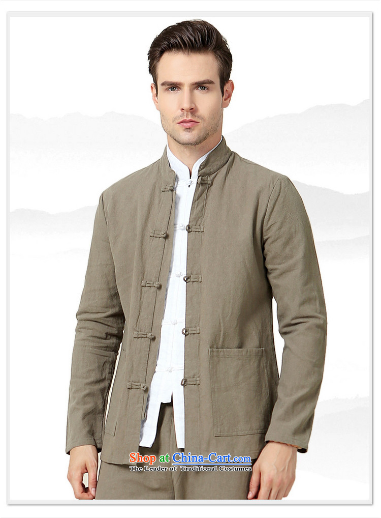 The Ocean 2015 Autumn Load Shuai New Men Tang China Wind Jacket Sau San Men long sleeved shirt Simple Chinese shirt navy blue long-sleeved (single) 41/175 picture, prices, brand platters! The elections are supplied in the national character of distribution, so action, buy now enjoy more preferential! As soon as possible.