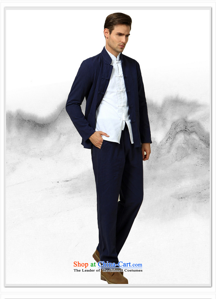 The Ocean 2015 Autumn Load Shuai New Men Tang pants China wind national costumes and trousers Chinese men's trousers, cotton linen color pictures, 40/170 pickled price, brand platters! The elections are supplied in the national character of distribution, so action, buy now enjoy more preferential! As soon as possible.