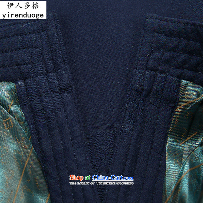 The Mai-Mai multi-Tang dynasty winter male thick cotton coat larger jacket in older Large Tang dynasty jacket robe of ethnic father replacing red T-shirt聽XXL, Mai-mai multiple cells (YIRENDUOGE) , , , shopping on the Internet