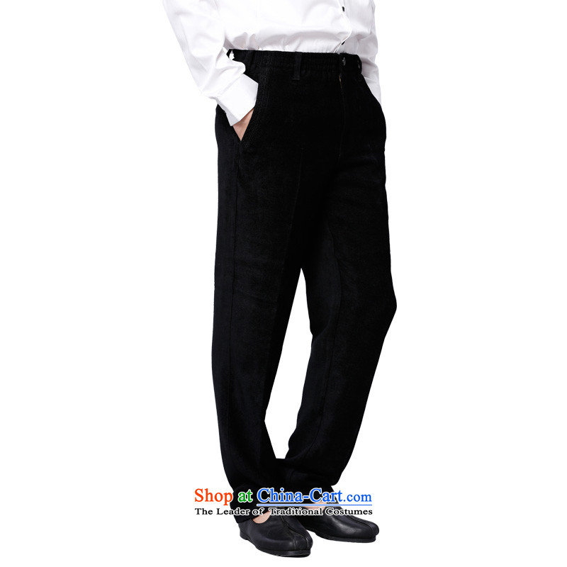 To Tang Dynasty Dragon China wind men viscose pant聽14571聽Black聽48 Black聽52, to , , , lung shopping on the Internet