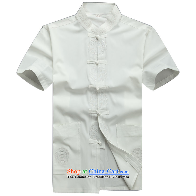 Beijing OSCE men summer new Tang dynasty short-sleeved Tang dynasty in older-Tang dynasty male short-sleeved Tang Dynasty Package White Kit M/170, Putin (JOE OOH) , , , shopping on the Internet