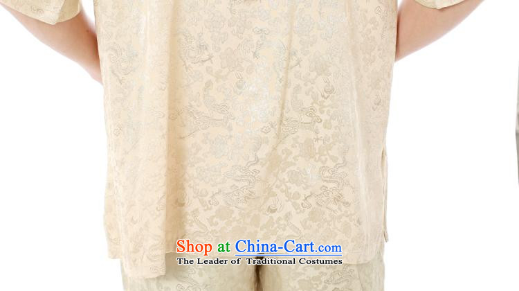 To send the new summer Tang dynasty men short-sleeved T-shirt Chinese Premier Silk dragon design of fathers day dresses xiang ethnic leisure relaxd stylish high Waist Trousers white short-sleeved migration Xiang Package聽XXXL picture, prices, brand platters! The elections are supplied in the national character of distribution, so action, buy now enjoy more preferential! As soon as possible.