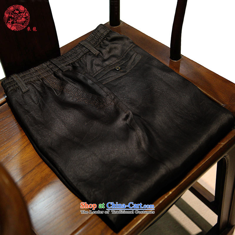 To Tang Dynasty Lung Men split China Summer Scent cloud yarn TROUSERS-thick, thin, 13314, 48 Deep Color ---- thin, making a commitment to lung , , , shopping on the Internet
