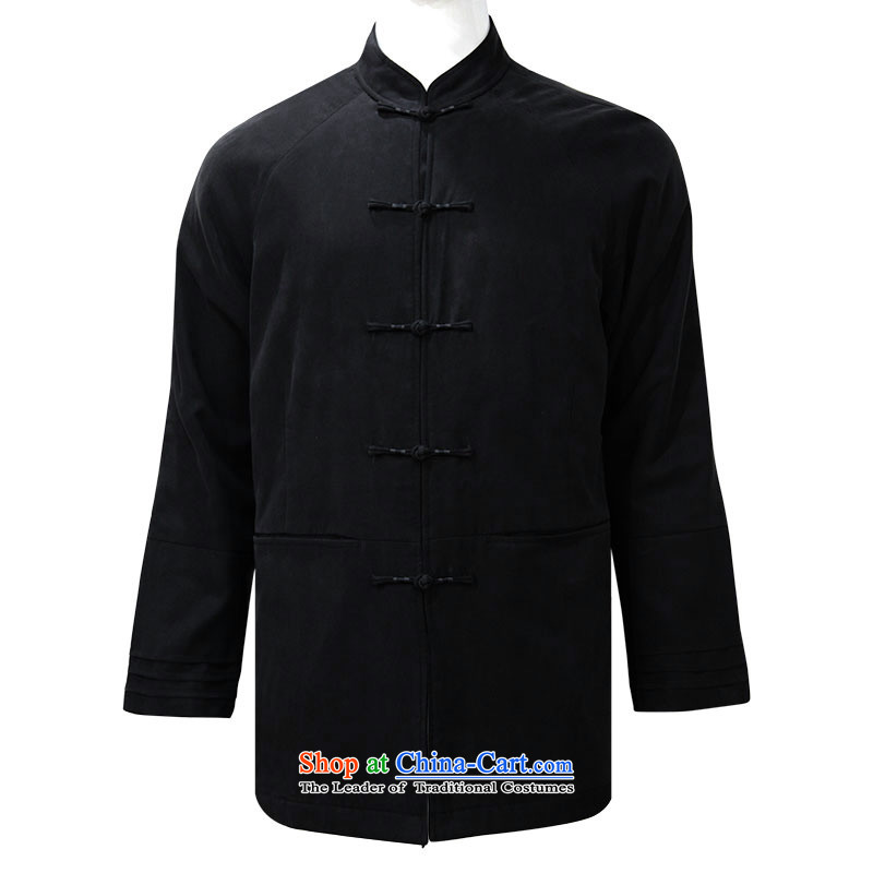 To Tang dynasty dragon of autumn and winter China Wind Jacket聽14540 male聽black聽48 deep blue聽52, to lung , , , shopping on the Internet