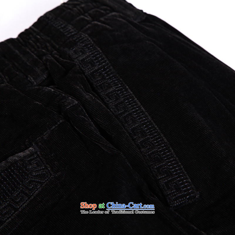 To Tang Dynasty Dragon China wind men elastic pant聽14350聽Black聽48 black聽dragon has been pressed to 53/481 shopping on the Internet