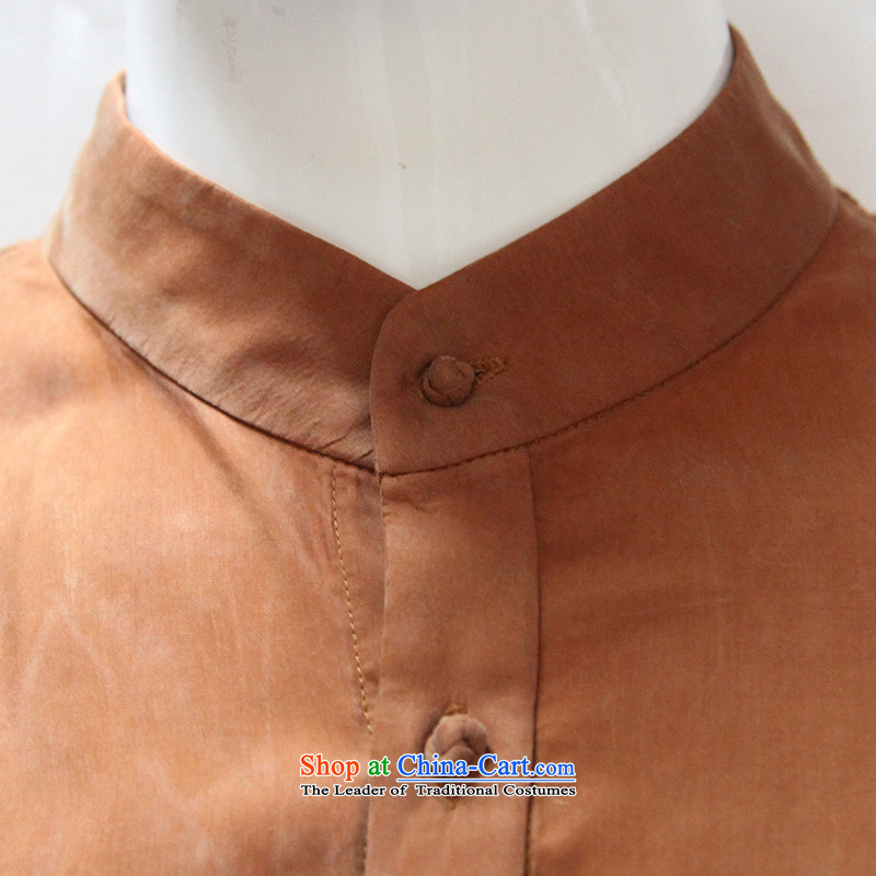 To replace the fall of Tang Lung China wind men long-sleeved shirt聽14546聽Yellow Earth聽48 yellow earth聽46 to lung , , , shopping on the Internet