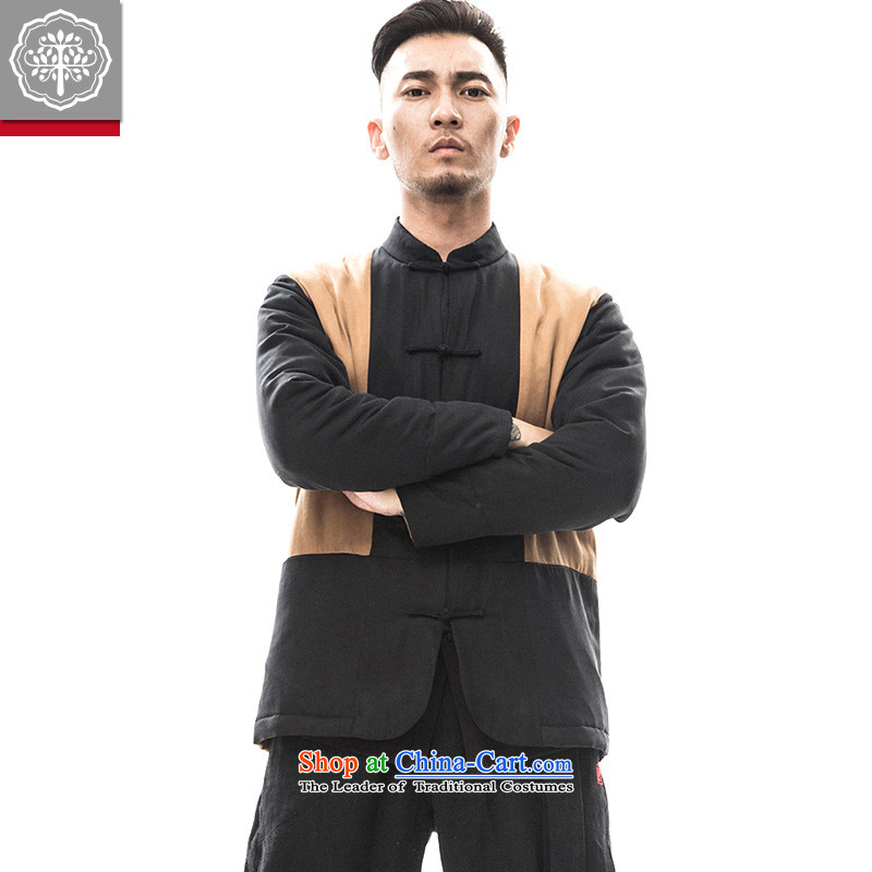 In 2015 the new tree Tang dynasty of ethnic Chinese men's long-sleeved sweater Tang dynasty China wind improved Han-hyun/BARKL?165/S