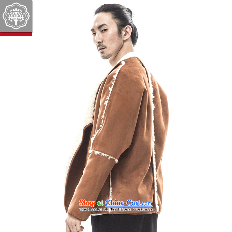 2015 Autumn tree to Tang dynasty and the new long-sleeved sweater thick Warm Han-male China improved Tang Huang180/XL, wave of tea to tree (EYENSREE) , , , shopping on the Internet