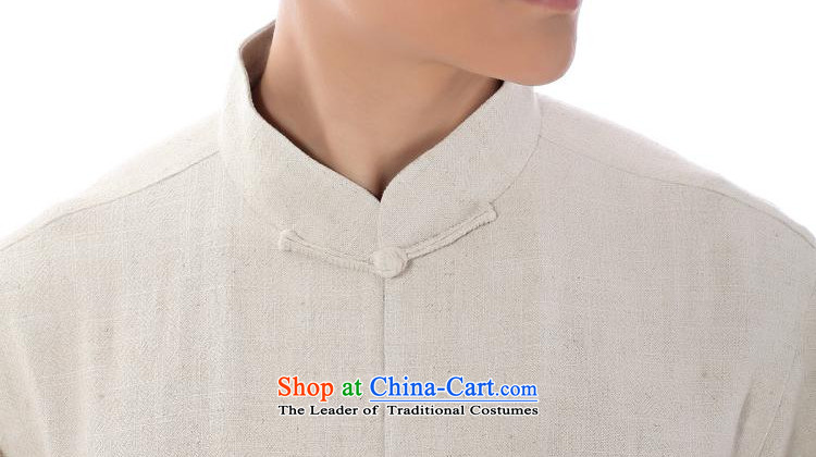 The dispatch of flagship store new summer Tang dynasty men short-sleeved T-shirt stylish and cozy linen stamp of ethnic Chinese youth leisure dress up charge-back collar father only T-shirt ma short-sleeved T-shirt聽3XL natural picture, prices, brand platters! The elections are supplied in the national character of distribution, so action, buy now enjoy more preferential! As soon as possible.