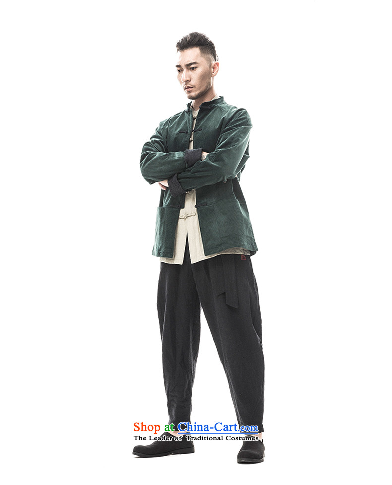 2015 Autumn and winter to New Tree Chinese men Tang dynasty long-sleeved corduroy ãþòâ improved Han-male China wind men designer brands rattan 175/L yellow picture, prices, brand platters! The elections are supplied in the national character of distribution, so action, buy now enjoy more preferential! As soon as possible.