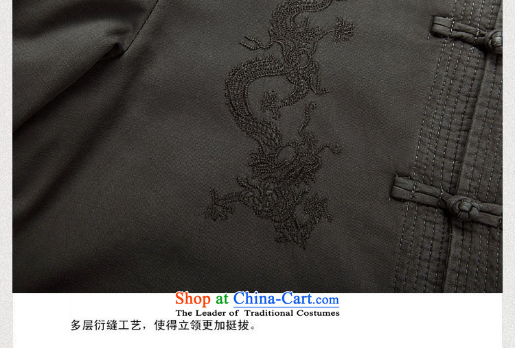 Kanaguri mouse new winter clothing thick men in Tang Dynasty cotton jacket older Men's Mock-Neck cotton coat Chinese father boxed national costumes聽M/170 Light Gray Photo, prices, brand platters! The elections are supplied in the national character of distribution, so action, buy now enjoy more preferential! As soon as possible.