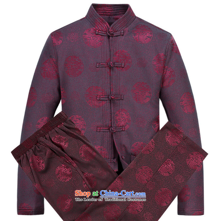 Kanaguri mouse autumn and winter new Tang dynasty Long-sleeve men Tang Dynasty Package Tang jacket men fall and winter Tang pants thick red kit聽XL/180 picture, prices, brand platters! The elections are supplied in the national character of distribution, so action, buy now enjoy more preferential! As soon as possible.